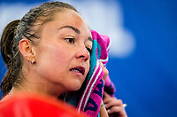 Amstelveen, Netherlands, 16  December, 2020, National Tennis Center, NTC, NK Indoor, National  Indoor Tennis Championships, : Lesley Pattinama-Kerkhove  (NED) <br /> Photo: Henk Koster/tennisimages.com