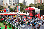 HSBC Sevens Village during the HSBC Hong Kong Rugby Sevens 2018 on 07 April 2018, in Hong Kong, Hong Kong. Photo by Yu Chun Christopher Wong / Power Sport Images