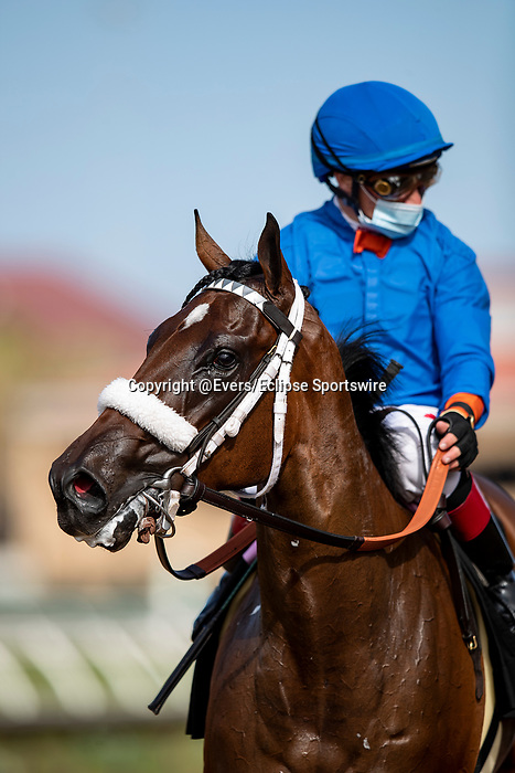 AUG 08: Weston with Draydens Van Dyke win the Best Pal Stakes at Del Mar Thoroughbred Club in Del Mar, California on August 02, 2020. Evers/Eclipse Sportswire/CSM