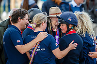 GBR-Kitty King during the Prizegiving. 2021 SUI-FEI European Eventing Championships - Avenches. Switzerland. Sunday 26 September 2021. Copyright Photo: Libby Law Photography