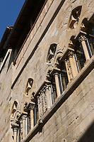 Europe/France/Midi-Pyrénées/46/Lot/Figeac: Détail fenêtres à ogive de la facade de l'Hôtel du Viguier du Roy - rue Emile Zola