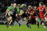 Chris Robshaw of Harlequins in action during the Aviva Premiership match between Harlequins and Saracens at Twickenham on Tuesday 27 December 2011 (Photo by Rob Munro)