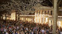 UVa Lawn Lighting Ceremony