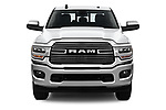 Car photography straight front view of a 2019 Ram 2500 Laramie 4 Door Pick Up