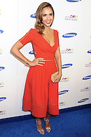 NEW YORK CITY, NY, USA - JUNE 10: Jessica Alba at the 13th Annual Samsung Hope For Children Gala held at Cipriani Wall Street on June 10, 2014 in New York City, New York, United States. (Photo by Celebrity Monitor)