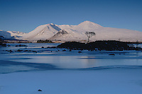 Lochan na h-achlaise and the Blackmount at dawn, Rannoch Moor, Argyll & Bute<br /> <br /> Copyright www.scottishhorizons.co.uk/Keith Fergus 2011 All Rights Reserved