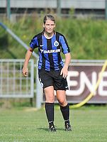 20160827 - AALTER , BELGIUM : Brugge's Raquel Viaene pictured during the soccer match  in the 2nd round of the  Belgian cup 2017 , a soccer women game between Club Brugge and Football Club Bercheux   ,  Aalter , saturday 27 th August 2016 . PHOTO SPORTPIX.BE / DIRK VUYLSTEKE