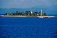 Océanie/Australie/Queensland/Env de Port Douglas/Grande Barrière de Corail/les Iles Douglas: les Iles Low et leur phare