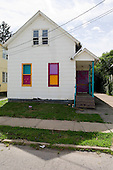 Cleveland, Ohio.July 27, 2011..Slavic Village homes and properties that were hit by the economic and mortgage crisis.