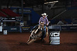 Kassidy Lovell during the second round of barrel qualifiers at the WCRA Stampede at the E. Photo by Andy Watson