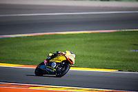 VALENCIA, SPAIN - NOVEMBER 8: Luis Salom during Valencia MotoGP 2015 at Ricardo Tormo Circuit on November 8, 2015 in Valencia, Spain