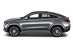 Car Driver side profile view of a 2020 Mercedes Benz GLE - 5 Door SUV Side View