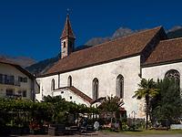 Dominikaner - Kloster Maria Steinach, Algund bei Meran, Region Südtirol-Bozen, Italien, Europa<br /> Dominican convent Maria Steinach, Lagundo near Merano, Region South Tyrol-Bolzano, Italy, Europe