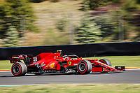 8th October 2021; Formula 1 Turkish Grand Prix 2021 free practise at the Istanbul Park Circuit, Istanbul;  SAINZ Carlos (esp), Scuderia Ferrari SF21