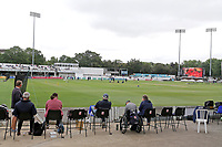 Spectators await the start of play during Essex CCC vs Warwickshire CCC, Specsavers County Championship Division 1 Cricket at The Cloudfm County Ground on 15th July 2019