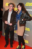 """Bernard Menez , Romy Trajman - Avant-premiËre du film """"Si j'etais un homme"""" au Cinema OpÈra - Paris, France - 21/02/2017"""
