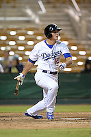 Glendale Desert Dogs infielder Corey Seager (12), of the Los Angeles Dodgers organization, during an Arizona Fall League game against the Peoria Javelinas on October 14, 2013 at Camelback Ranch Stadium in Glendale, Arizona.  Glendale defeated Peoria 5-1.  (Mike Janes/Four Seam Images)