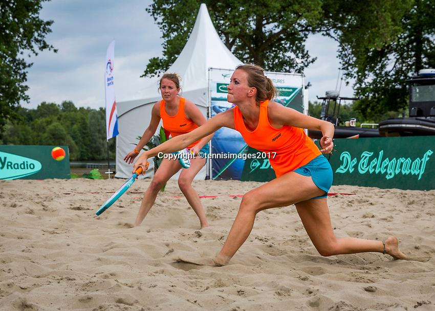 Den Bosch, Netherlands, 17 June, 2017, Tennis, Ricoh Open,  Beachtennis<br /> Photo: Henk Koster/tennisimages.com
