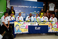 MANIZALES - COLOMBIA, 05-06-2017: Francisco Maturana, fue presentado hoy, 05 de junio de 2017, en Manizales como el nuevo entrenador del club de fútbol Once Caldas de Manizales. Maturana, ex entrenador de la selección Colombia vueve a Manizales 19 años después cuando comenzó como entrenador en 1986. /  Francisco Maturana was presented  today, 05 of June 2017, in Manizales as a new coach of Once Caldas soccer team of manizales. Maturana, former coach of Colombian National Soccer team, come back to Manizales, after 19 years, where he began his carrier as trainer in 1986. Photo: VizzorImage / Santiago Osorio / Cont