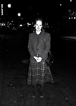 """Meryl Streep attends a perfdormance of """"The Life and Adventures of Nicholas Nickleby"""" on October 10, 1981 at the Plymouth Theatre in New York City."""