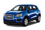 2016 Chevrolet Trax LS 5 Door SUV Angular Front stock photos of front three quarter view