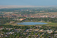 Lake Minnequa, Pueblo, Colorado. June 2014. 85738