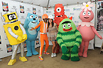 Camille Guaty & The cast of Yo Gabba Gabba! at the celebration of Habitat for Humanity Partnership with Home Build in Lynwood, California on August 12,2010                                                                               © 2010 Debbie VanStory / Hollywood Press Agency