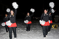 Omaha, NE - DECEMBER 20:  Dollies of the Stanford Cardinal outside the hotel before Stanford's 2008 NCAA Division I Women's Volleyball Final Four Championship match against the Penn State Nittany Lions on December 20, 2008 at the Embassy Suites Omaha in Omaha, Nebraska.