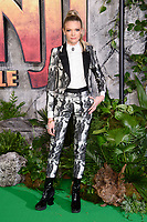 "Becca Dudley<br /> arriving for the ""Jumanji: Welcome to the Jungle"" premiere at the Vue West End, Leicester Square, London<br /> <br /> <br /> ©Ash Knotek  D3358  07/12/2017"