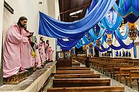 south America, Guatemala. santiago di Atitlan, votive statue in the church