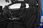 Front seat view of 2015 Audi S3 Premium Plus 4 Door Sedan front seat car photos
