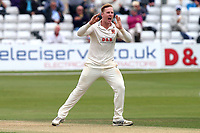 Simon Harmer of Essex with an appeal for a wicket during Essex CCC vs Middlesex CCC, Specsavers County Championship Division 1 Cricket at The Cloudfm County Ground on 29th June 2017