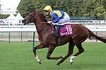 October 02, 2016, Chantilly, FRANCE - Savoir Vivre with Frederik Tylicki up at the Qatar Prix de'l Arc de Triomphe (Gr. I) at  Chantilly Race Course  [Copyright (c) Sandra Scherning/Eclipse Sportswire)