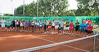 August 9, 2014, Netherlands, Rotterdam, TV Victoria, Tennis, National Junior Championships, NJK,  Prize giving, all the winners<br /> Photo: Tennisimages/Henk Koster