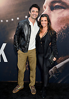 """LOS ANGELES, CA: 01, 2020: Gilles Marini & Carole Marini at the world premiere of """"The Way Back"""" at the Regal LA Live.<br /> Picture: Paul Smith/Featureflash"""
