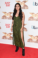 """LONDON, UK. October 09, 2019: Olivia Olsen at the photocall for """"The X Factor: Celebrity"""", London.<br /> Picture: Steve Vas/Featureflash"""