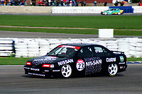 Round 1 of the 1992 British Touring Car Championship. #23 Keith Odor (GBR). Nissan Janspeed Racing. Nissan Primera GT.