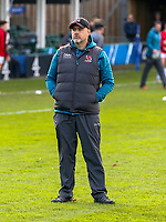 16 November 2019; Ulster Rugby Head Coach Dan McFarland during the Heineken Champions Cup Pool 3 Round 1 match between Bath and Ulster at The Recreation Ground in Bath, England. Photo by John Dickson/DICKSONDIGITAL