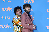 """LOS ANGELES - JUN 10:  Benny Blanco and Dave Burd at the """"Dave"""" Season Two Premiere Screening at the Greek Theater on June 10, 2021 in Los Angeles, CA"""
