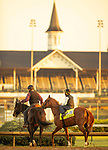 April 30, 2021 :  Like the King, trained by trainer Wesley Ward, Carolyn Simancik/Eclipse Sportswire/CSM