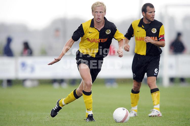 voetbal fc emmen - bv veendam voorbereiding  seizoen 2009-2010 18-07-2009 niek loohuis .