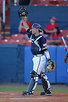 Xavier Musketeers Joey Noble #40 during a game vs. the Illinois State Redbirds at Chain of Lakes Stadium in Winter Haven, Florida;  March 5, 2011.  Illinois State defeated Xavier 7-6.  Photo By Mike Janes/Four Seam Images