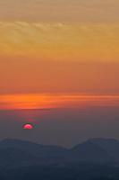 Sunset at Kandy, Sri Lanka