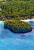 Ile des pins, rocher de Kanumera