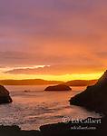 Sunset, Hughes Bay, San Juan Islands, Washington