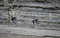 Nicolas Roche (IRE/DSM) & Peter Sagan (SVK/BORA - hansgrohe)<br /> <br /> 104th Giro d'Italia 2021 (2.UWT)<br /> Stage 12 from Siena to Bagno di Romagna (212km)<br /> <br /> ©kramon