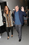 Grace Hightower and Robert De Niro attend the Broadway Opening Night performance of 'The Last Ship' at the Neil Simon Theatre on October 26, 2014 in New York City.