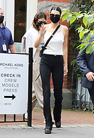 NEW YORK, NY- SEPTEMBER 10: Kendall Jenner seen at the NYFW S/S 2022 Michael Kors fashion show at Tavern On The Green in New York City on September 10, 2021. Credit: RW/MediaPunch<br /> CAP/MPI/RW<br /> ©RW/MPI/Capital Pictures