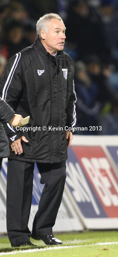 Gillingham manager Peter Taylor <br />  - Gillingham v Stevenage - Sky Bet League One - Priestfield, Gillingham - 26th November 2013. <br /> © Kevin Coleman 2013