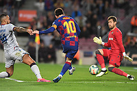 Messi, Ruben Vezo, Aitor Fernandez<br /> Barcelona 02-02-2020 Camp Nou <br /> Football 2019/2020 La Liga <br /> Barcelona Vs Levante <br /> Photo Paco Larco / Panoramic / Insidefoto <br /> ITALY ONLY